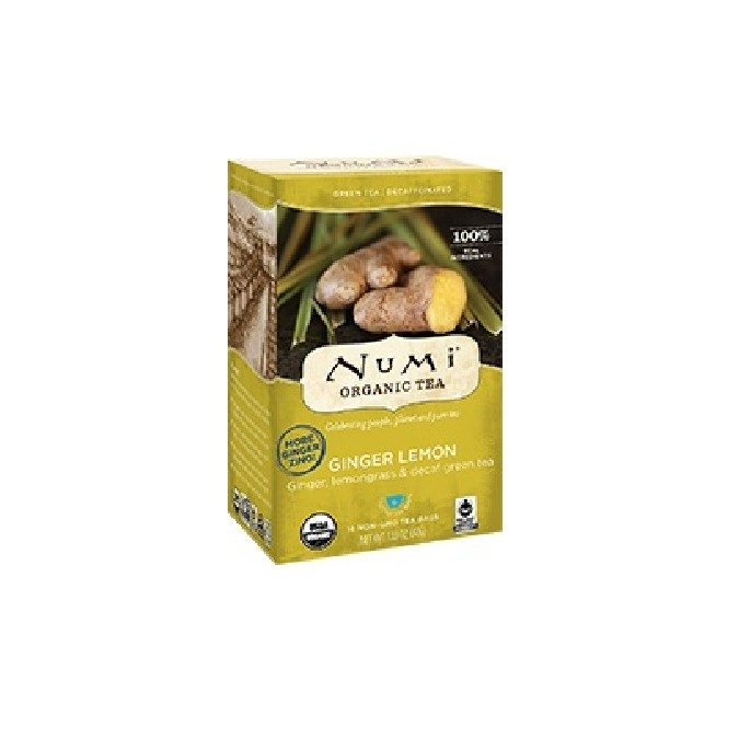 Numi Organic Ginger Lemon Decaf