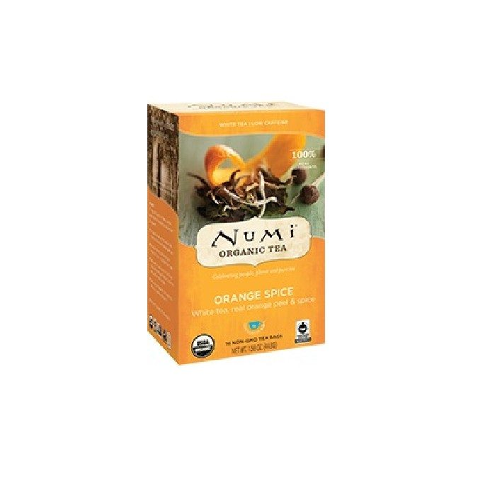 Numi Organic Orange Spice White Tea