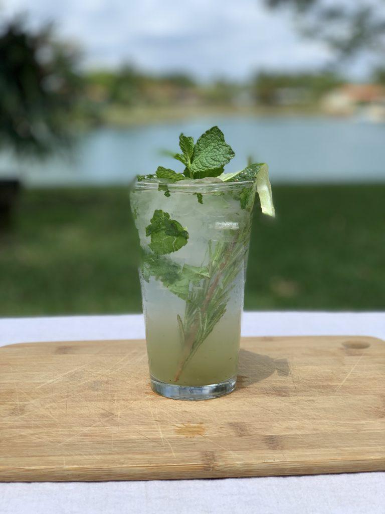Rosemary Jalapeno Mojito Mocktail