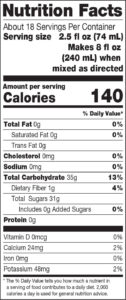 100_Crushed_Nutrition-Facts_Strawberry