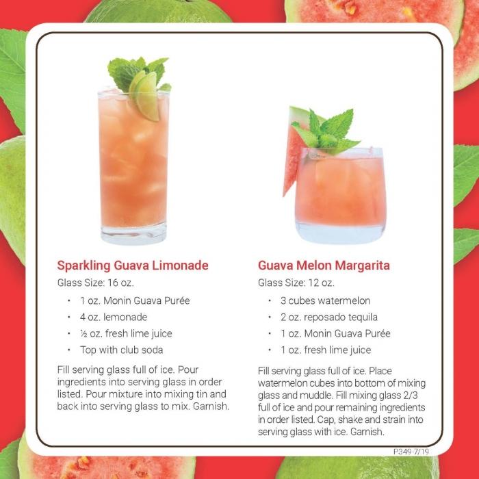 Monin Guava puree recipe