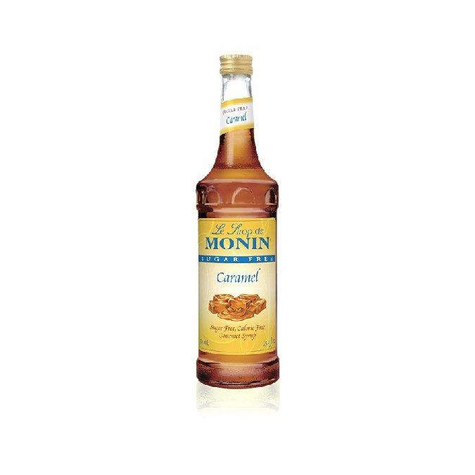 Monin Sugar Free Caramel Syrup
