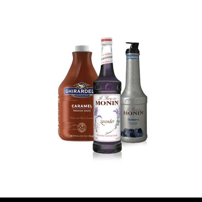 Sauces, Syrups, Purées