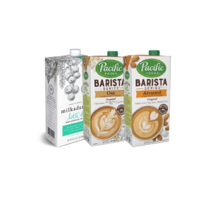 Plant-Based Barista Milks