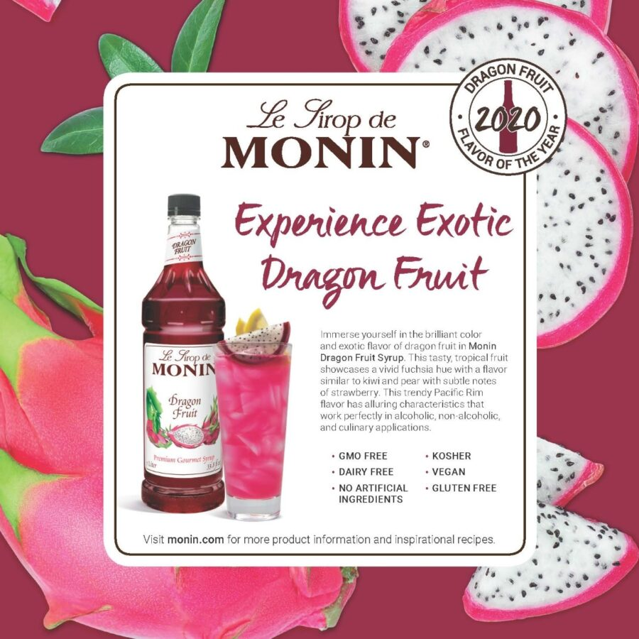 Monin Dragon Fruit Recipe 1