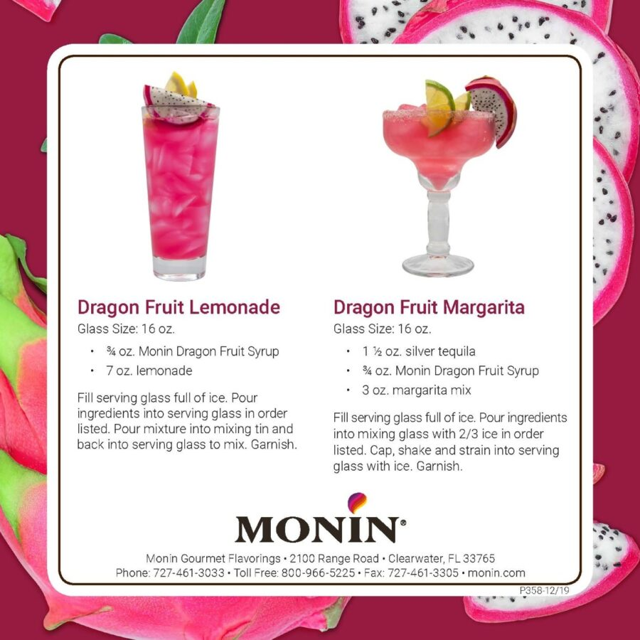 Monin Dragon Fruit Recipe 2