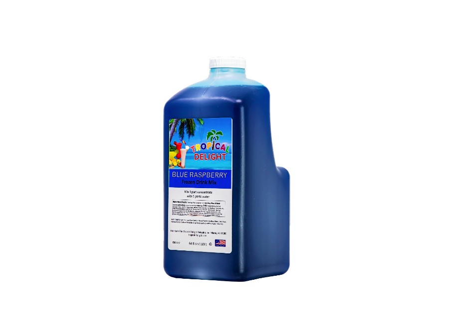 Tropical Delight Blue Raspberry Drink Mix
