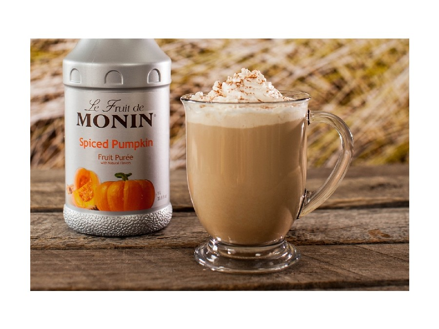 Monin Spiced Pumpkin Puree coffee
