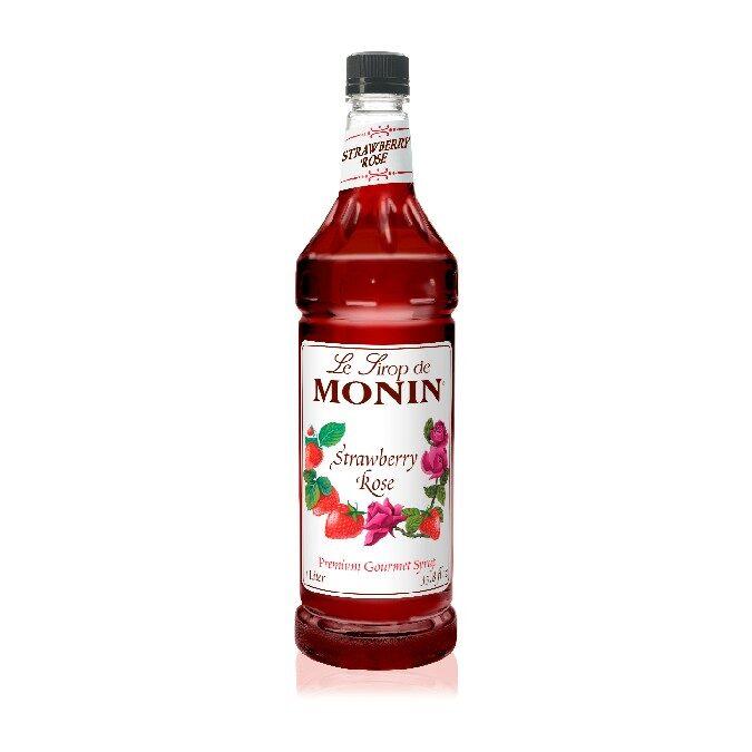 Monin Strawberry Rose Syrup